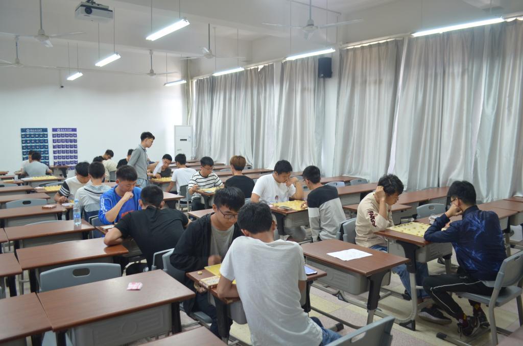 安徽理工大学土木建筑学院举办第三届棋艺大赛