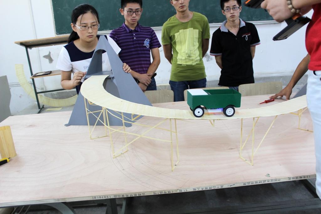 第九届全国大学生结构设计大赛安徽理工大学校内选拔